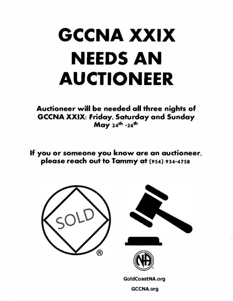 FLYER_GCCNA_Auctioneer_Needed_EVENT-2019-05-24-26